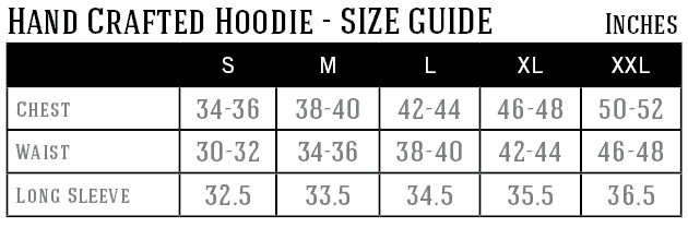 hand-crafted-hoodie-size-guide