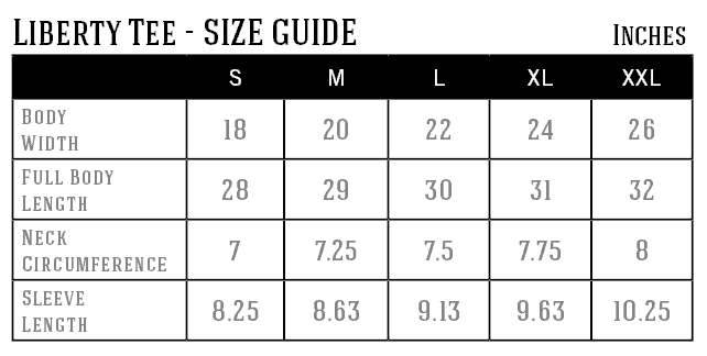 liberty-tee-size-guide